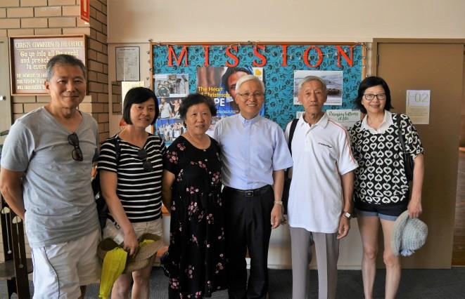 중국에서 방문한 스티븐형제 가족들
